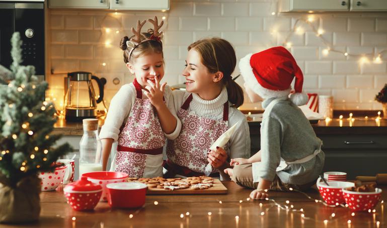 jul med diabetes, børn fristet af julekager
