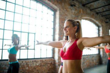 Sådan kan også du blive glad for fysisk aktivitet. kvinde trening