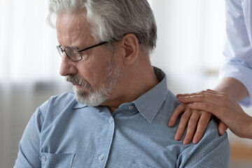 mand føler skam over at have type 2-diabetes
